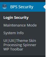 BPS free Network Subsite Menus