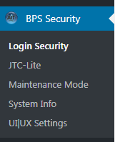 BPS Network Subsite Menus
