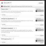 VaultPress Suspicious Code