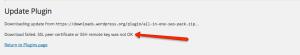 SSL Certificate - SSH Remote Key error