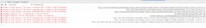 Google Chrome Developer Tools 403 error